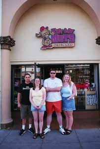 Our Group at the Try My Nuts Store