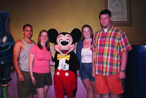 All of us at Mickey's House in Toon Town.